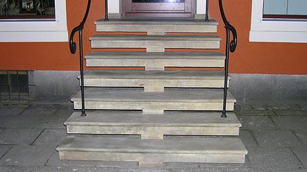 schody z kamienia,piaskowca