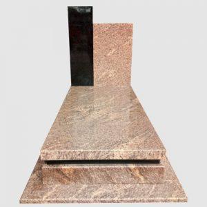 zdjęcie nagrobka, granit giallo california,granit szwed
